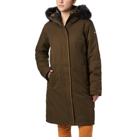 Columbia Hillsdale Parka Mujer, olive green heather